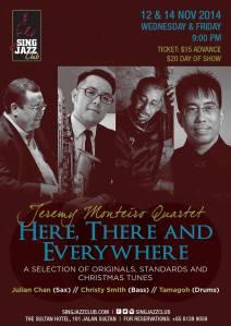 JM4tet Sing Jazz 12&14 Nov 2014